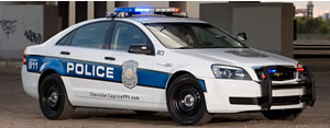 2011 Chevrolet Caprice Police Car with 355 horsepower.