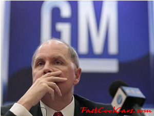 General Motors Co's chief executive Fritz Henderson abruptly resigned