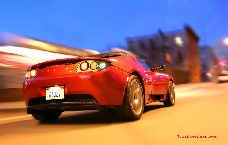 Tesla's all electric vehicle - Eco Friendly Cars