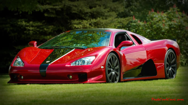 One of the top ten fastest cars in the world.