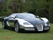 5th Fastest Car in the World is the Bugatti Veyron, top speed of 253 mph