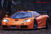 8th Fastest Car in the World is the Mclaren F1, top speed of 240 mph