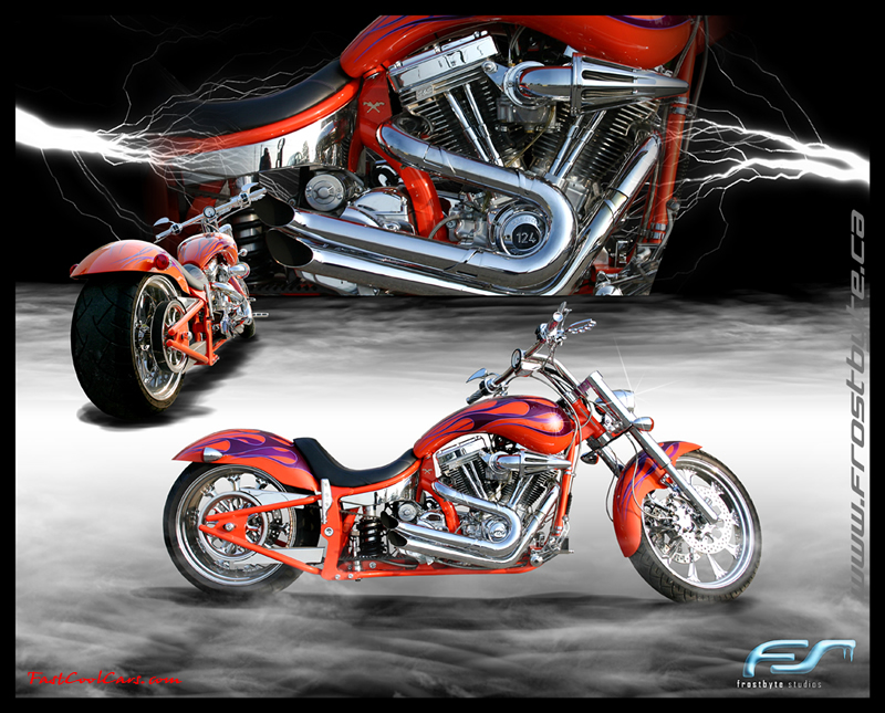 Big Dawg motorcycle custom made wallpaper by a friend