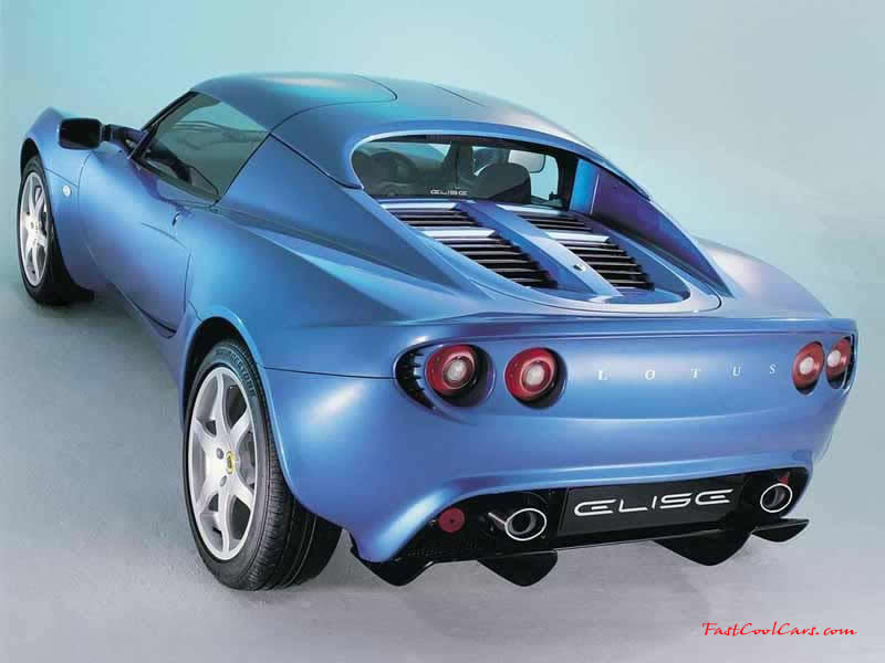 Lotus Elise Blue paint,