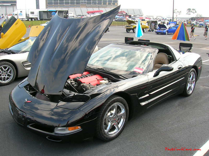 Nopi Nationals - Motorsports Supershow 2005, Fast cool Chevrolet Corvette.