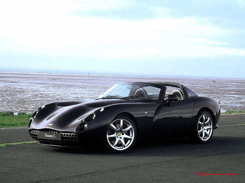 TVR Tuscan - One bad ass looking ride
