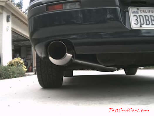 1993 Dodge Stealth pre muffler-back exhaust