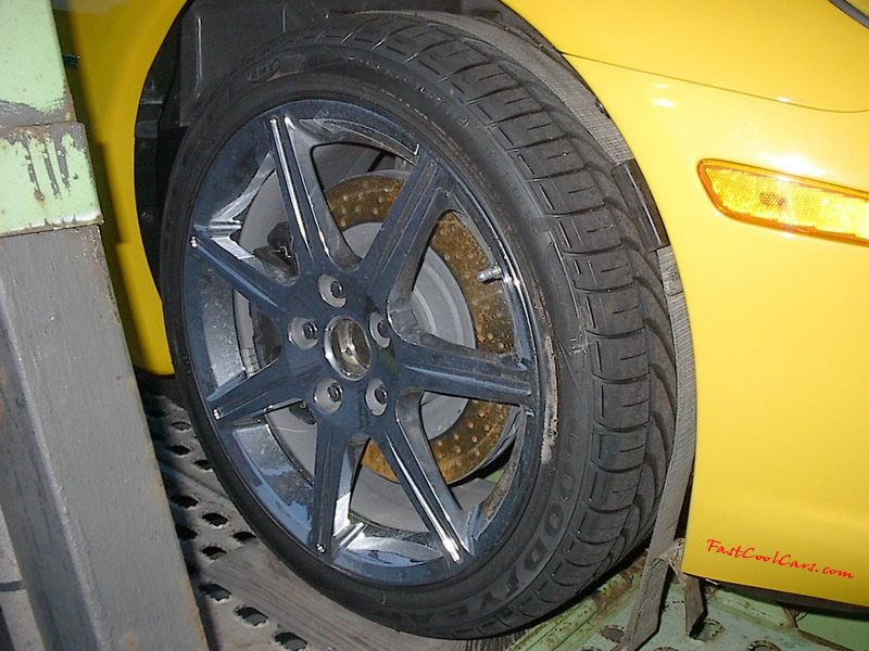 ZHZ C6 Corvette - Hertz Rental Special Edition, special wheels